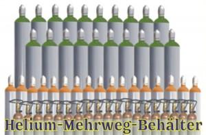 Helium-Mehrweg-Behaelter